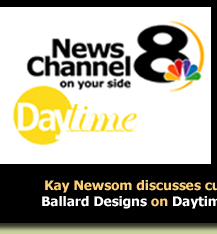 Kay Newsom on Daytime, News Channel 8